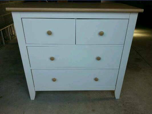 Mamas and Papas Prairie range chest of drawers