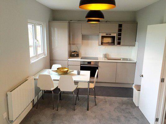 A newly created top floor conversion flat - Raynes Park