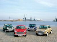 Classic mini spares. Loads of parts available.