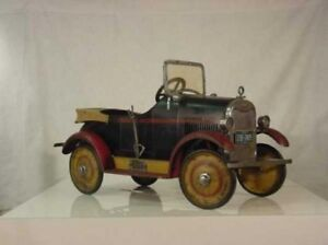 Pedal car, tractor, boat, plane, tricycle, wagon etc