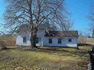 Just listed wont last long with 6 acres, home and river
