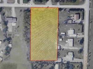2 acre building lot in City!