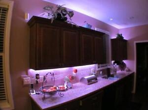 """Waterproof 16 ft. """" LED Strip Lights 50000 hrs use in PINK"""