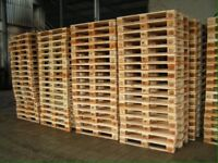 Wooden pallets. Timber crates perect for shippings or DIY projects