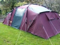 8 persons tent.