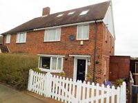 Four Bedroom Semi-Detached House with Private Garden & Parking
