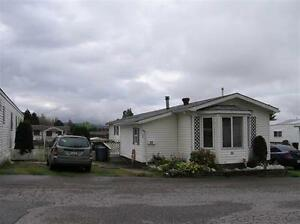 Manufactured Home in town park.