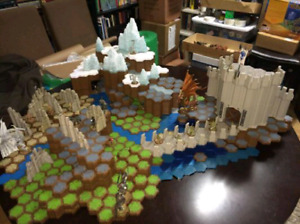 20% OFF! Heroscape Complete Sets and Figures