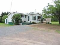 WELL MAINTAINED BUNGALOW ON 3.5ACRES!!