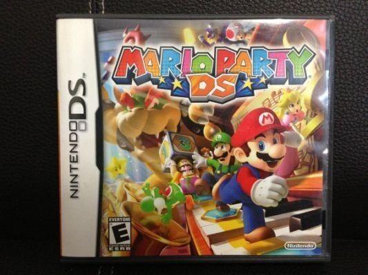 Super Mario 64, Mario Party Ds, Super Princes Peach