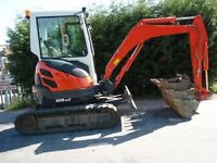 Digger Mini Micro Dumper Plant Hire with/without Driver All areas covered call Andy on 07568 441277