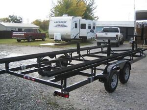 Pontoon trailer rental and moving service