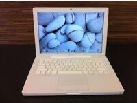 WHITE MACBOOK 2.2GHZ DUAL CORE, 250GB HD,OFFICE, ADOBE, LOGIC, FINAL CUT
