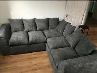 BRAND NEW LIVERPOOL JMBO CORD CORNER AND 3+2 SEATER SOFA AVAILABLE IN STOCK