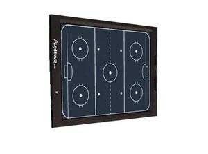 Free Shipping Playmaker LCD Hockey Coaches Board with Suction Cups Coach Dry Erase New Coaching Supplies