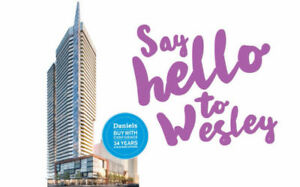 WESLEY TOWER AT MISSISSAUGA CITY CENTRE, VIP ACCESS!