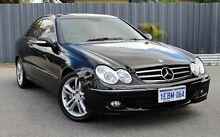 2006 Mercedes-Benz CLK280 C209 MY07 Avantgarde Black 7 Speed Automatic Coupe Victoria Park Victoria Park Area Preview