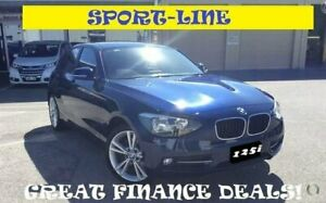 2015 BMW 1 Series F20 MY0714 125i Sport Line Blue 8 Speed Sports Automatic Hatchback Greenfields Mandurah Area Preview