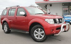 2007 Nissan Pathfinder R51 MY07 ST-L Red 5 Speed Sports Automatic Wagon Hillman Rockingham Area Preview