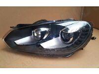 Vw Golf R/GTD passenger side Bixenon headlamp led