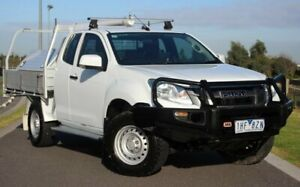 2015 Isuzu D-MAX MY15 SX Space Cab White 5 Speed Manual Cab Chassis Officer Cardinia Area Preview