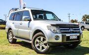 2007 Mitsubishi Pajero NS VR-X Silver 5 Speed Sports Automatic Wagon Wangara Wanneroo Area Preview