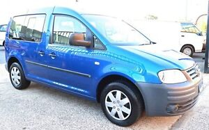 2006 Volkswagen Caddy 2K Life Blue 5 Speed Manual Wagon Underwood Logan Area Preview