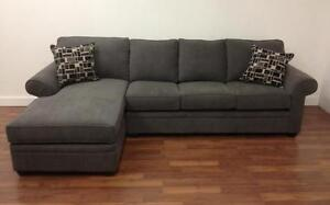 """Sectional in the """"25 year"""" Fabric $1388 -TAKE ANOTHER 10% OFF!!!"""