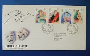 1982-BRITISH-THEATRE-FIRST-DAY-COVER-SIGNED-BY-DEBORAH-WATLING-DR-WHO