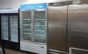SINGLE, DOUBLE GLASS DOOR REFRIGERATORS , STAINLESS STEEL FREEZERS, COMMERCIAL FRIDGES, SOLID COOLERS, VERTICAL, UPRIGHT