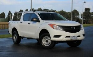 2014 Mazda BT-50 UP0YF1 XT 4x2 Hi-Rider White 6 Speed Sports Automatic Utility Officer Cardinia Area Preview
