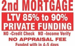 2ND OR 3RD MORTGAGE UPTO 90%LTV,NO APPRAISAL NO CREDIT CHECK Peterborough Peterborough Area image 1