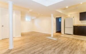 very clean and renovated 2-3 room basement apt for rent in Bramp