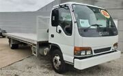 2001 Isuzu NQR NY 450 Long White Cab Chassis 4.8l 4x2 Rocklea Brisbane South West Preview