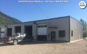 Steel Buildings on Sale!