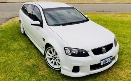 2013 Holden Commodore VE II MY12.5 SV6 White 6 Speed Automatic Sportswagon