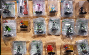 HeroClix figures sealed DC characters