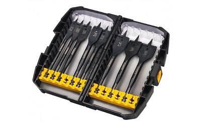DEWALT DT7943 EXTREME FLAT WOOD SPADE DRILL BIT SET 8PC 12-32MM IN CASE DT7943B