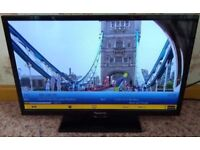 Panasonic TX-24C300B HD LCD LED TV FREEVIEW USB HDMI