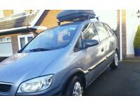 2004 vauxhall zafira 7 seater MOT'd april 2019, new breaks, new clutch, and new radiator £895 ono.