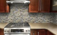 $199~ KITCHEN/BATHROOM BACKSPLASH TILE FLOOR WALLS INSTALLED
