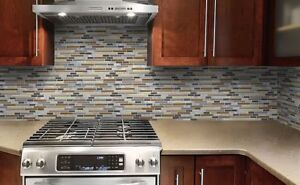 Pro Kitchen & Bathroom Tile Backsplash Wall Installed@ $198