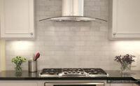 Kitchen and Bathroom Backsplash Tile installation