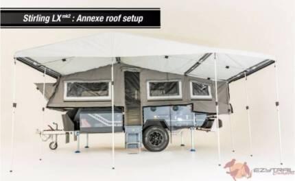 Ezytrail Stirling LX Mk2 Off Road Hard Floor Camper Trailer