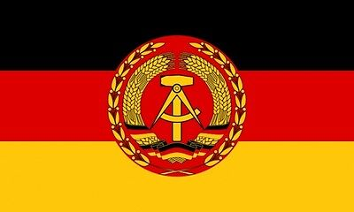 Fahne Flagge DDR Kommandantenwimpel der Kampfschiffe 10 x 198 cm