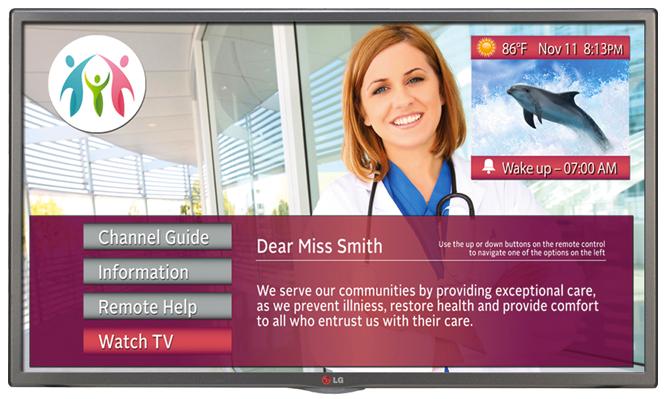 """LG 28LV570M 28"""" Commercial Healthcare Hospital Grade Pro:Cen"""