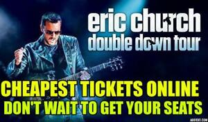 REDUCED!!!✯✯ Eric Church✯✯ Scotiabank ,FRI Sep 20 8PM✯✯