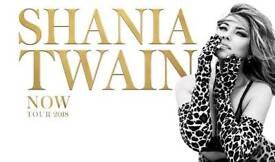 4 x tickets to Shania Twain