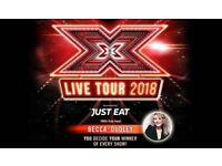 """SOLD"" X FACTOR Live (Front row seats at the stage) HYDRO Glasgow"