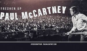 Billets Paul McCartney Centre Vidéotron 17 septembre